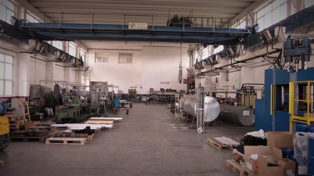 Rugos - Výrobné priestory